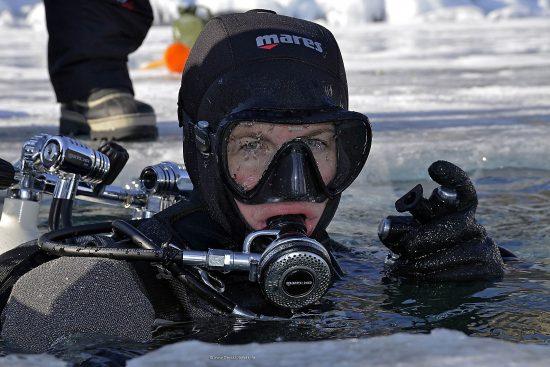 Mares XR Team at lake Baikal 2017