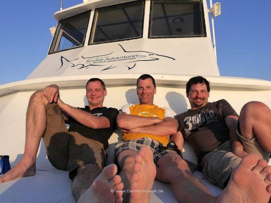 Bahamas Tour 2013 mit Jim Abernethy auf der Shearwater