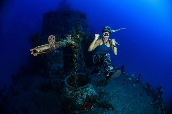 Mares-diving-photo no-4