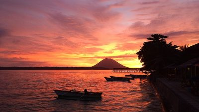 CelebesDivers - Onong resort sunset 3