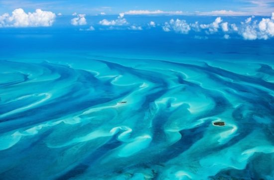 A beautiful view of the Bahamas