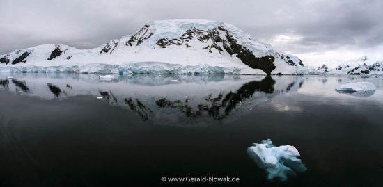 Fijord in der Antarktis, Antarktika Expedition 2018