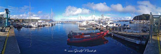 Porto Pim, der alte Hafen, Horta, Faial, Azoren